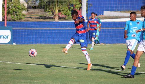 Fortaleza aplica goleada no São Gerardo pelo Cearense Sub-20