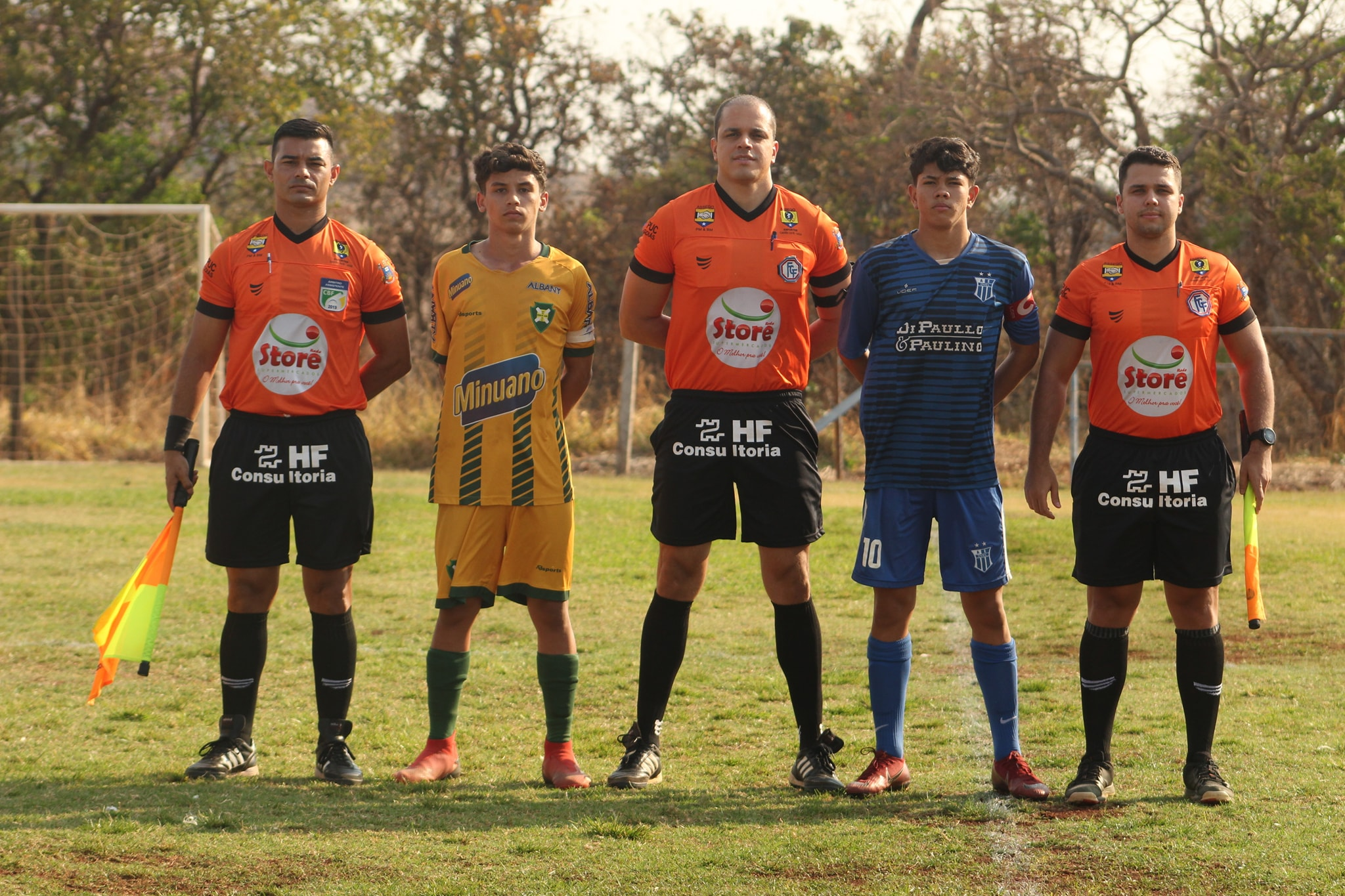 Ovel estreia com vitória no Goiano Sub-15