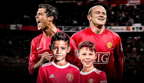Filhos de famosos estão juntos no sub-11 do Manchester United-ING