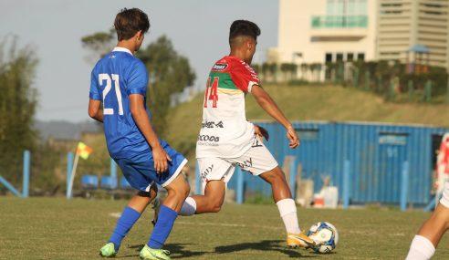 Barra goleia e segue 100% no Catarinense Sub-17
