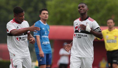 São Paulo aplica incrível goleada pelo Paulista Sub-20