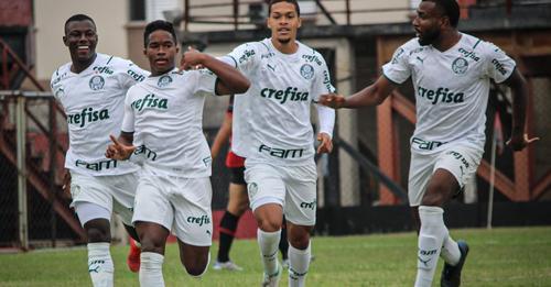 Joia brilha e Palmeiras vence por goleada no Paulista Sub-20