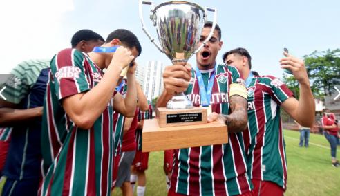 Fluminense é o campeão carioca sub-20 de 2021