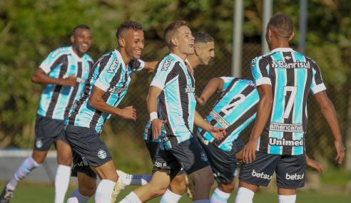 Grêmio supera Ceará e fica a uma vitória das semifinais do Brasileirão de Aspirantes