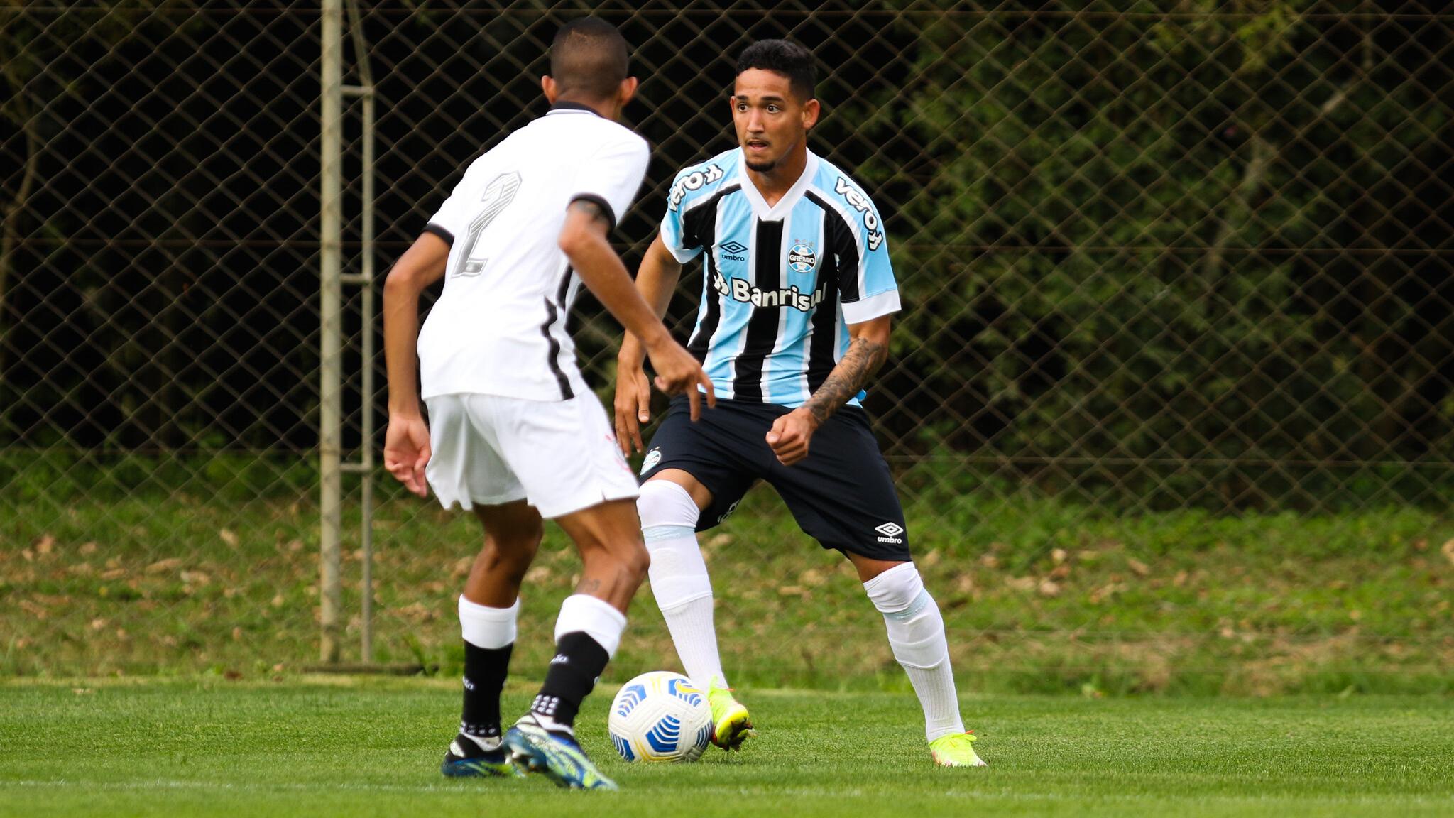 Em jogo movimentado, Grêmio e Corinthians empatam pelo Brasileirão de Aspirantes