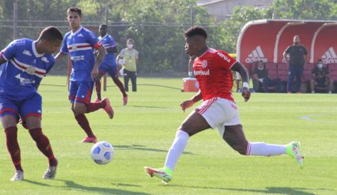 Internacional decide no segundo tempo e vence Bahia pelo Brasileirão Sub-20