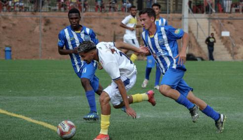 Minas Boca goleia Santarritense e vence a primeira no Mineiro Sub-17