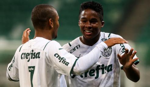 Palmeiras vence Athletico-PR e abre vantagem nas quartas da Copa do Brasil Sub-17