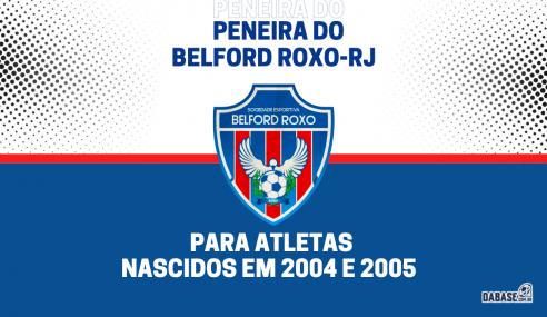 Belford Roxo-RJ realizará peneira para a equipe sub-17