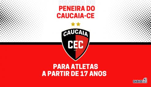 Caucaia-CE realizará peneira para a equipe principal