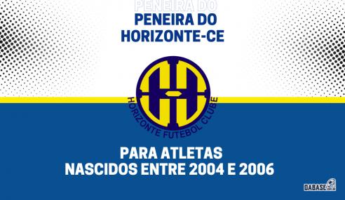 Horizonte-CE realizará peneira para para a equipe sub-17
