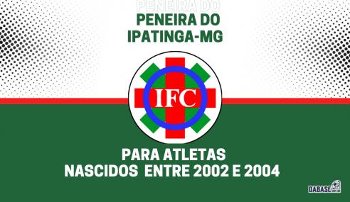 Ipatinga-MG realizará peneira para a equipe sub-19