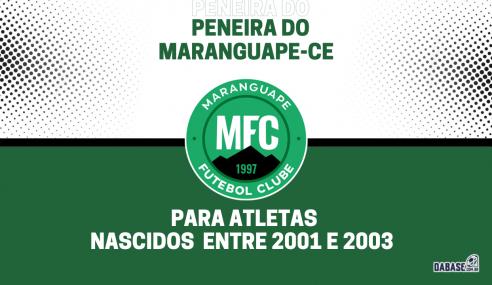 Maranguape-CE realizará peneira para a equipe sub-20