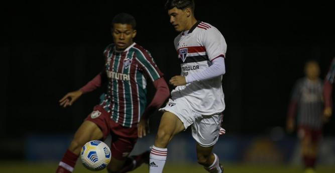 São Paulo e Fluminense empatam na ida das quartas da Copa do Brasil Sub-17