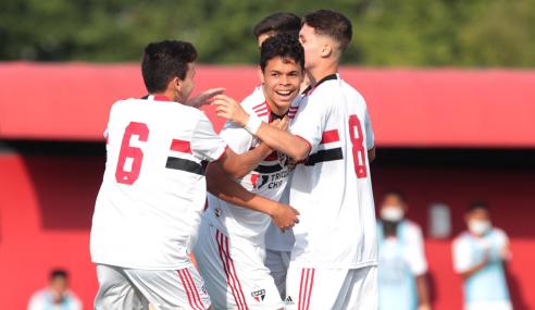São Paulo atropela Jacuipense e garante classificação na Copa do Brasil Sub-17