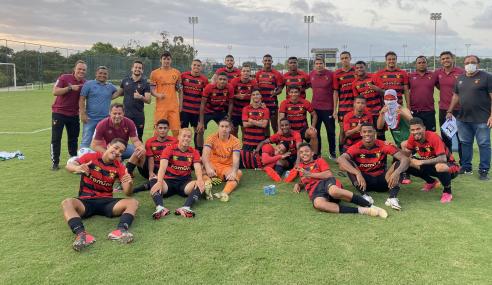 Com dois de Flávio, Sport vence Ceará pelo Brasileirão Sub-20