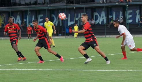 Sport bate Centro Limoeirense e mantém 100% no Pernambucano Sub-20