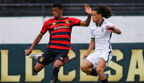 Sport vira nos acréscimos, vence e freia reação do Corinthians no Brasileirão Sub-20