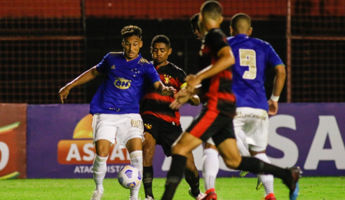 Sport marca no último minuto e empata com Cruzeiro pela Copa do Brasil Sub-17