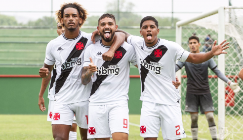 Vasco goleia Ceará e entra no G-8 do Brasileirão Sub-20