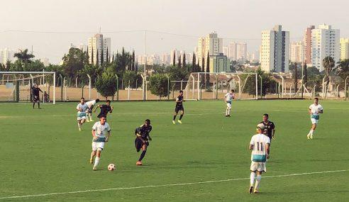 Goiás goleia Aparecidense e pula para a ponta no Goiano Sub-17