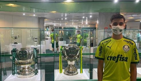 Palmeiras reforça seu time sub-15