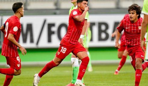 Sevilla empata e assume ponta isolada do Grupo G na Uefa Youth League