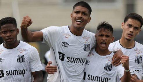 Santos goleia Taubaté pela 1ª rodada da 2ª fase do Paulista Sub-20