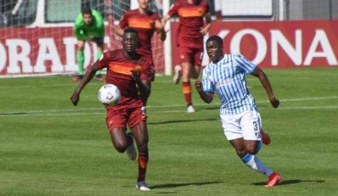 Roma goleia Pescara, fora, e continua isolada na ponta do Italiano Sub-19