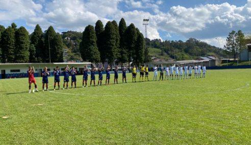 Grêmio goleia Gramadense e pula para a ponta no Gaúcho Sub-20