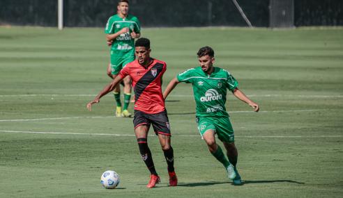 Atlético-GO e Chapecoense empatam na abertura da 18ª rodada do Brasileirão Sub-20