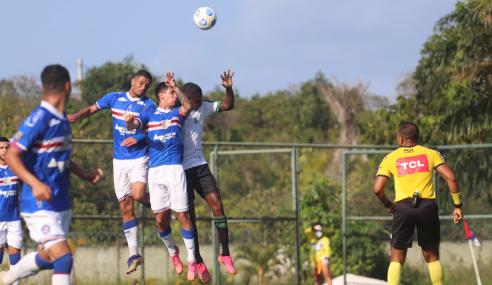 América-MG perde pênalti, empata com Bahia e cai no Brasileirão Sub-20