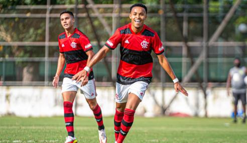 Flamengo atropela Fortaleza e se garante nas quartas do Brasileirão Sub-20