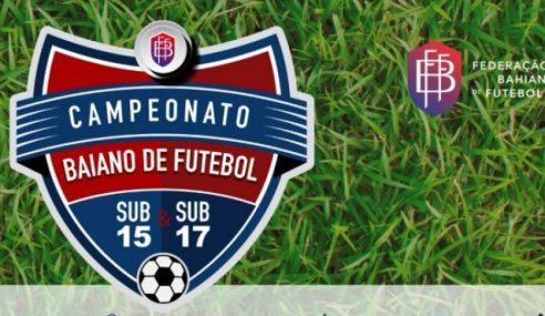 TJD altera confrontos das quartas de final do Baiano Sub-15 e Sub-17