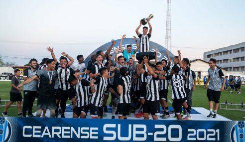 Ceará sagra-se campeão estadual sub-20