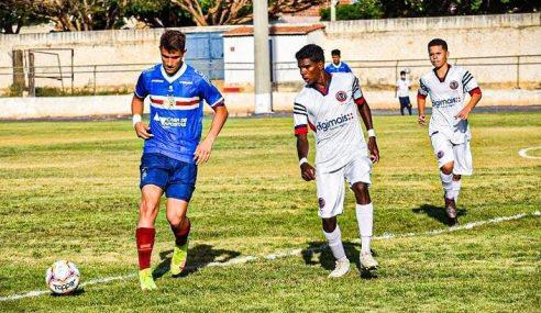 Gol solitário mantém Bahia 100% no Estadual Sub-15