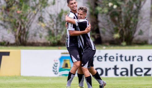 Ceará vence Pague Menos pelo Cearense Sub-17