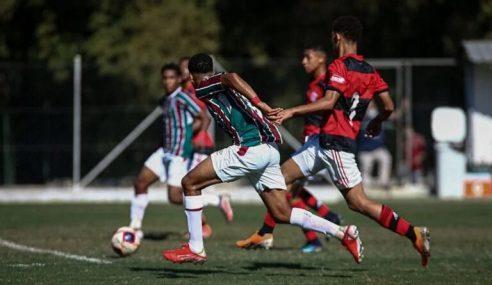 Fluminense goleia Flamengo e segue 100% no Carioca Sub-15