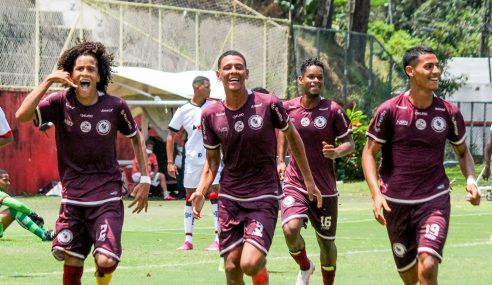 Gol solitário dá triunfo à Jacuipense contra o Vitória pelo Baiano Sub-17