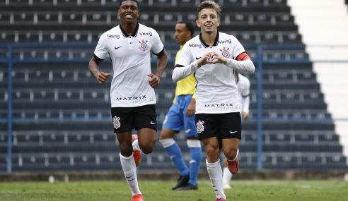 Corinthians termina primeira fase do Paulista Sub-20 com vitória