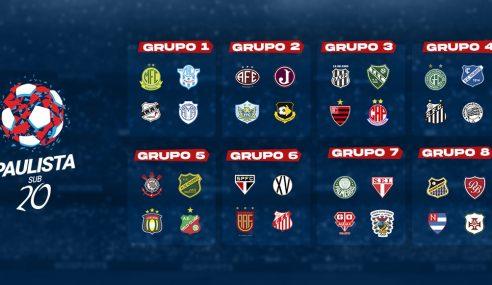 Confira grupos e tabela da segunda fase do Paulista Sub-20