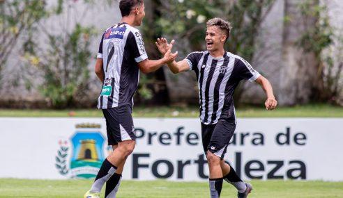 Ceará goleia União e vai à final do Cearense Sub-20