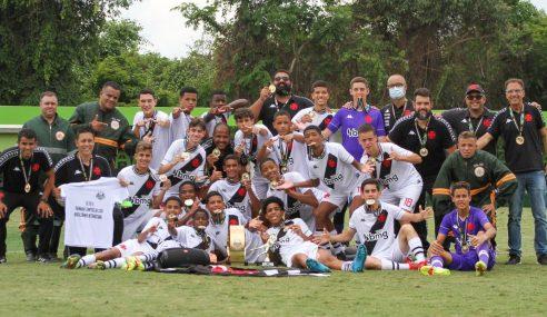 Vasco é bicampeão da Copa Brasileirinho Sub-14