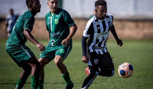 Ceará vence Floresta e segue invicto no Cearense Sub-17