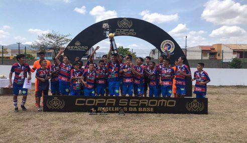 Fortaleza conquista a Copa Seromo Sub-13