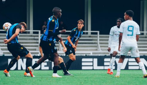 Grupo A da Uefa Youth League passa a ter três líderes