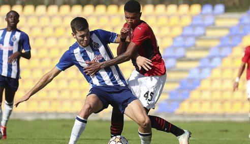 Porto assume ponta isolada do Grupo B na Uefa Youth League