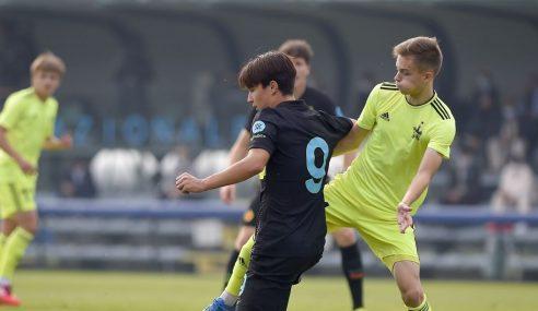 Inter assume ponta isolada do Grupo D na Uefa Youth League