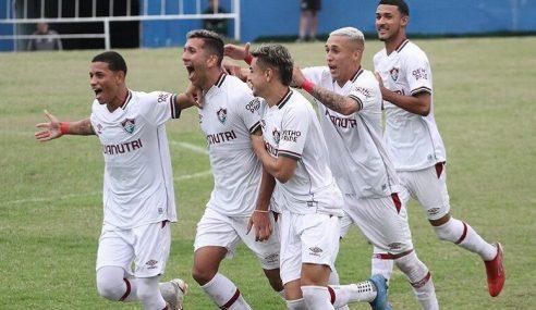 Fluminense vence jogo de ida das quartas de final da Copa Rio Sub-20/OPG