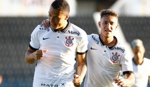 Corinthians dispara na ponta do Grupo 14 no Paulista Sub-20